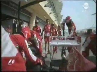 Bahrein 2013 : Voici comment on a réparé l'aileron d'Alonso