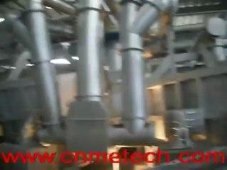 vertical aluminum melting furnace&tilting round holding furnace-----design for aluminum rod CCR line