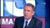 François Bayrou, invité de 12-13 Dimanche sur France3 - 210413