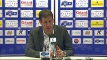 Conférence de presse SC Bastia - LOSC Lille : Frédéric HANTZ (SCB) - Rudi GARCIA (LOSC) - saison 2012/2013