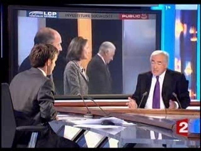 DSK2007, 26 oct 2006, Le 20h France 2
