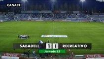 Liga Adelante  Sabadell 1  Recreativo  1