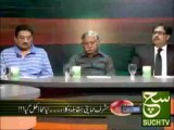 Ajj Ka Such 23-04-2013 with nadeem hussain such tv
