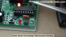 Comment faire Kit Télécommande portail Avec 2 Télécommandes Étanches Antenne Télescopique Externe?