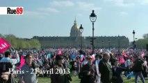 L'espoir des anti-mariage gay : un second tour FN-UMP à la prochaine présidentielle