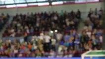Chaude ambiance au PDS lors de Créteil-Dunkerque Handball