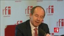 Jean-Jacques Urvoas, député PS du Finistère et président de la commission des Lois