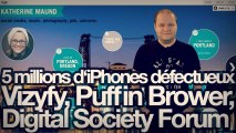 freshnews #424 5 millions d'iPhones défectueux, Vizyfy, Puffin Browser 3, Digital Society Forum (23/04/13)