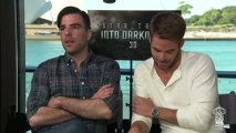 Smallzy got all the goss on the latest Star Trek film from Chris Pine and Zachary Quinto.