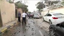 Attentat contre l'ambassade de France en Libye: 2 gardes blessés
