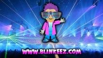 WICKED FUN Spiral Flashing LED Sunglasses at BLINKEEZ.com