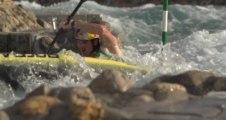 Slalom Canoe Training - Peter Kauzer - 2013