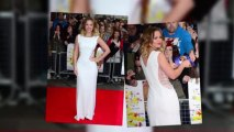 Kimberley Walsh Dazzles in White at All Stars Premiere