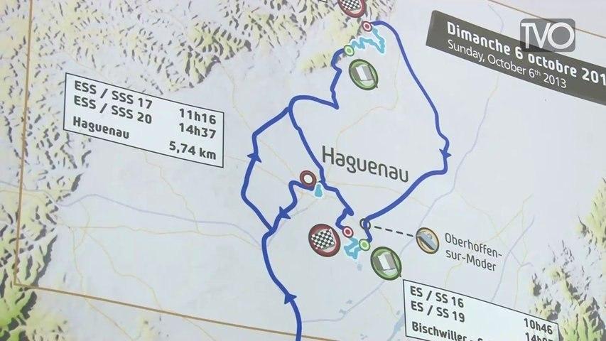 Présentation du Rallye de France - Alsace 2013