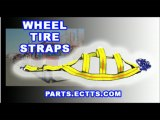 wheel straps autotransport tire straps