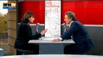 Anne Hidalgo, invitée politique de Jean-Jacques Bourdin sur BFMTV, le 29/04/13