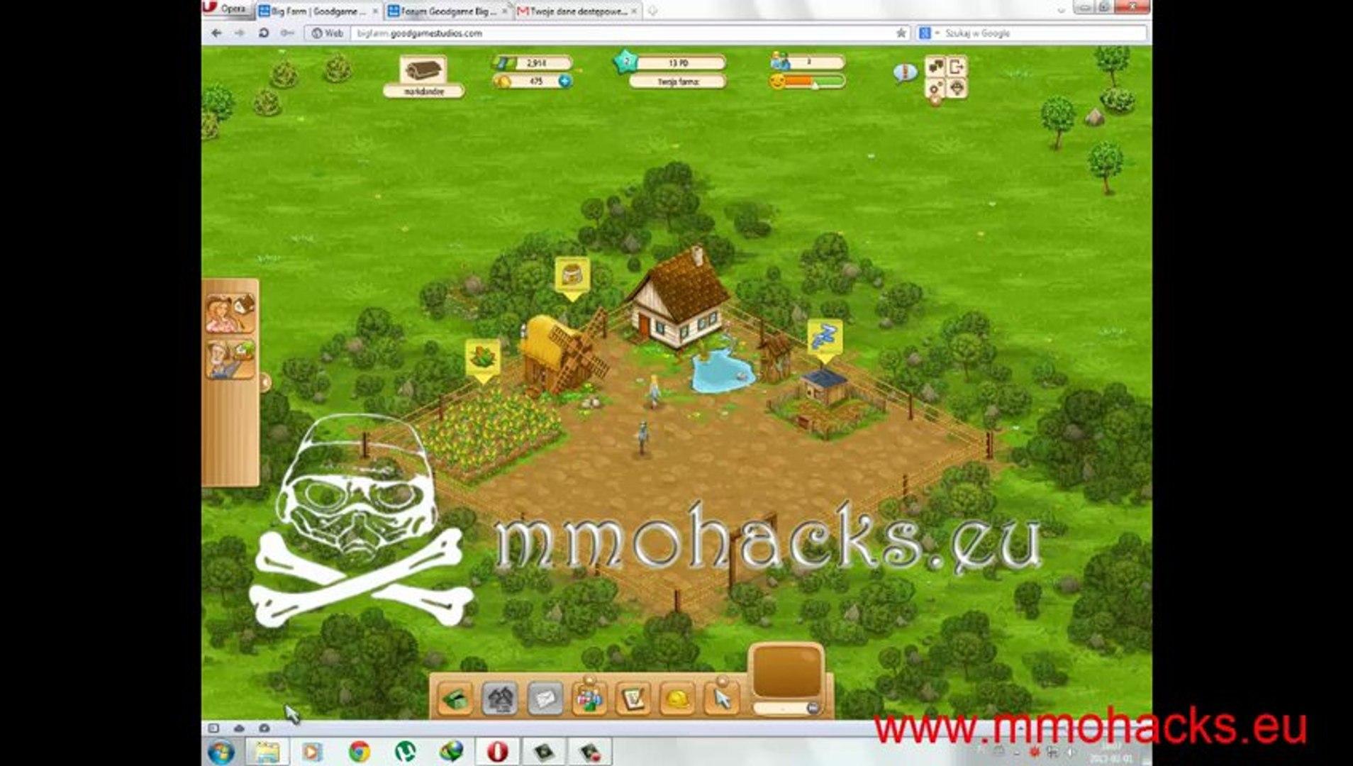 GoodGame Big Farm Hack v4.0 l Free download 2013 l Only tested hacks