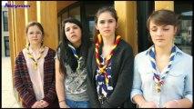 Jeanne, Laura, Julie, et Lisa nous présentent leur projet Inter-culturel avec le Pérou