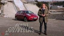 La Nissan Leaf à l'essai