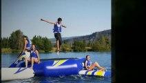 Camping en Dordogne, un vrai camping familial avec lac et jeux aquatiques, le Moulin de Surier