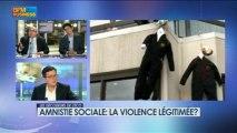 Amnistie sociale : la violence légitimée ? dans Les décodeurs de l'éco - 24 avril 4/5