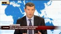 Chronique éco de Nicolas Doze: hausse des salaires en France- 25/04