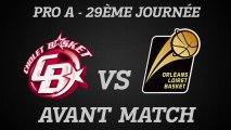 Avant-Match - J29 - Déplacement à Cholet