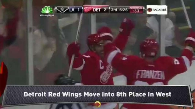 Red Wings Keep Playoff Hopes Alive