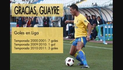Vea todos los goles de Guayre como amarillo