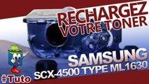 Recharger facilement les cartouches Samsung SCX-4500 - 4500W