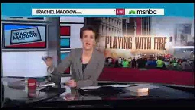 Rachel Maddow Rips Alex Jones (Infowars) Conspiracy Theories On Boston