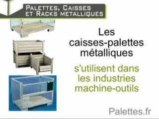 Les palettes, caisses et racks métalliques: robustesse et longévité / Europ Stocks Services - Palettes.fr