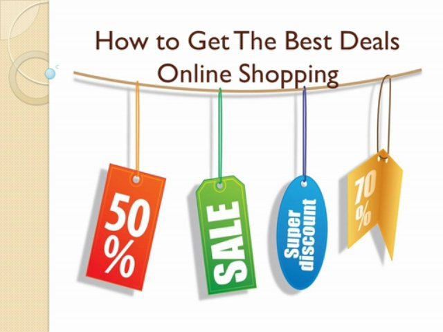 How to Get The Best Deals Online Shopping