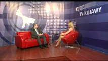 O nowych inwestycjach we Włocławku opowiada w studiu Telewizji Kujawy wiceprezydent Włocławka Jacek Kuźniewicz