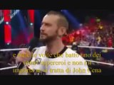 Cm Punk's pipe bomb and Punk and Rock segment 2013 sottotitoli