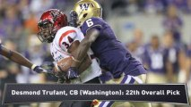 NFL Draft: Falcons Pick Desmond Trufant