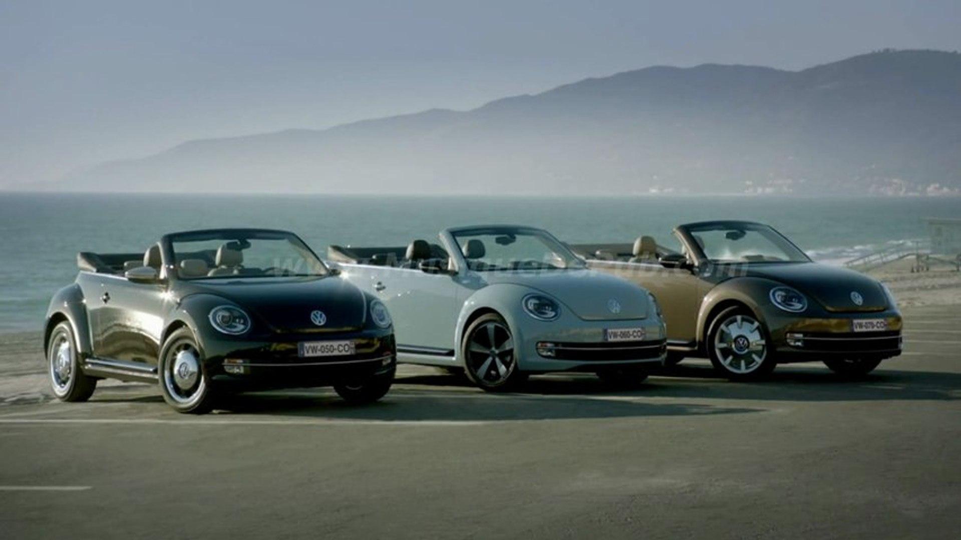 pub Volkswagen Coccinelle Cabriolet séries limitées 50's, 60's et 70's 2013 [HQ]