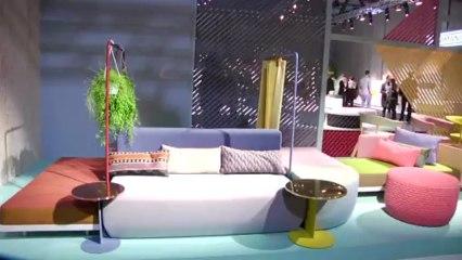 Milão 2013: o sofá do futuro no estande da Moroso