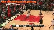Chicago Bulls vs Borkyn Nets 2013 Playoffs game 5 Results