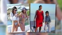 The Kardashian Family Show Off Their Bikini Bodies in Greece