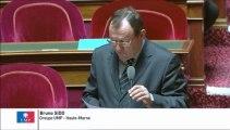 Bruno Sido, Sénateur de la Haute-Marne : Mutualisation entre les conseils généraux et les SDIS