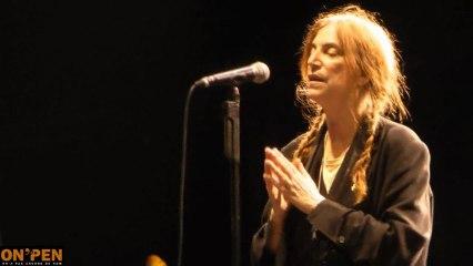 Patti Smith live fête de l'humanité