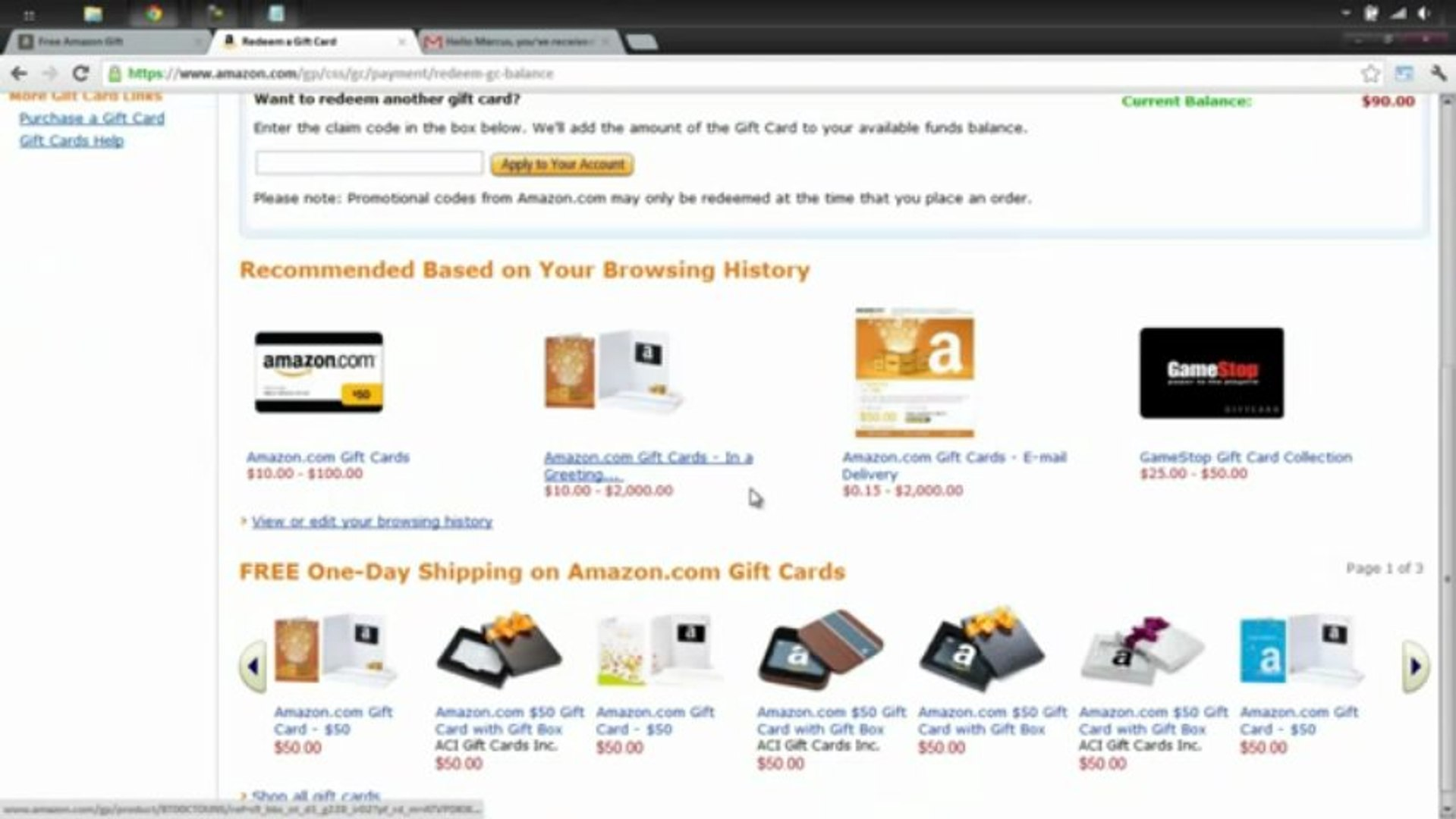 Legit How to Get Free Amazon Gift Card Codes - Free Amazon Codes with Proofs 2012