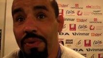 Rugby Pro D2 - Salim Tebani réagit après la remise du bouclier de champion de France