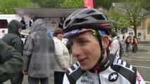 Interview de Beer Olivier du Vélo Club Mandrisio - PL Valli Vainqueur 1ère étape du Tour du Jura