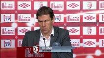 Conférence de presse LOSC Lille - FC Sochaux-Montbéliard : Rudi GARCIA (LOSC) - Eric HELY (FCSM) - saison 2012/2013