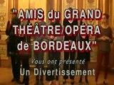 Divertissement musical au Grand Théâtre de Bordeaux (Gironde)