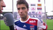 Interview de fin de match : Olympique Lyonnais - AS Saint-Etienne - saison 2012/2013