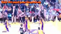 Los Angeles Lakers vs San Antonio Spurs 2013 Playoffs game 4 Results