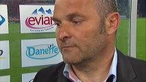 Interview de fin de match : Evian TG FC - Paris Saint-Germain - saison 2012/2013